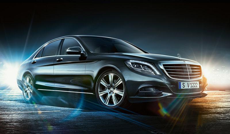 Ics italy chauffeur service fleet for Mercedes benz fleet